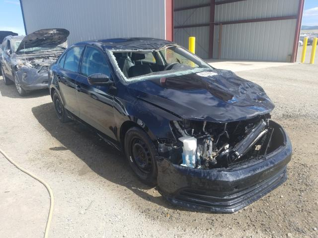 Salvage cars for sale from Copart Helena, MT: 2016 Volkswagen Jetta S
