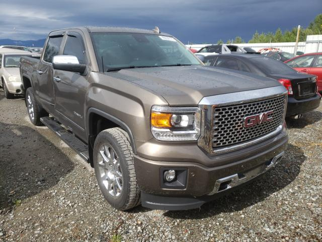 Salvage cars for sale from Copart Arlington, WA: 2015 GMC Sierra K15