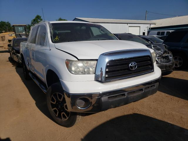 Salvage cars for sale from Copart Pekin, IL: 2008 Toyota Tundra CRE