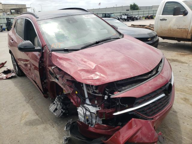 Salvage cars for sale from Copart Tulsa, OK: 2021 Buick Encore GX