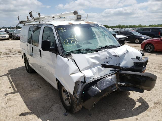 Salvage cars for sale from Copart Temple, TX: 2008 Chevrolet Express G2