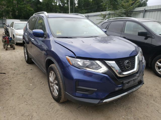Salvage cars for sale from Copart North Billerica, MA: 2018 Nissan Rogue S