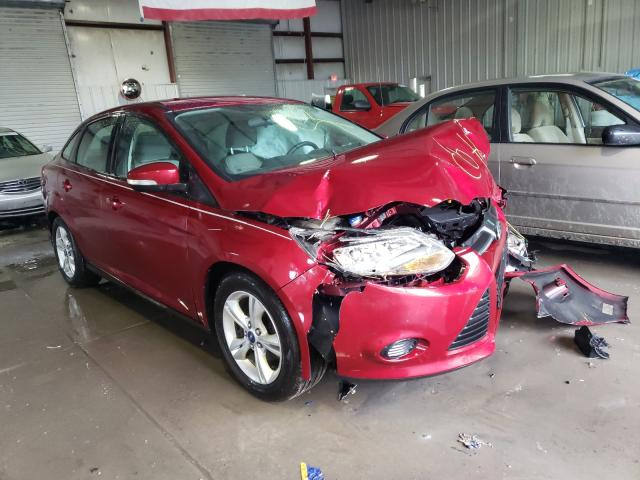 Salvage cars for sale from Copart Albany, NY: 2014 Ford Focus SE