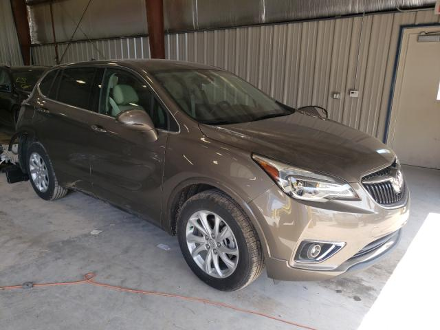Salvage cars for sale from Copart Appleton, WI: 2019 Buick Envision P