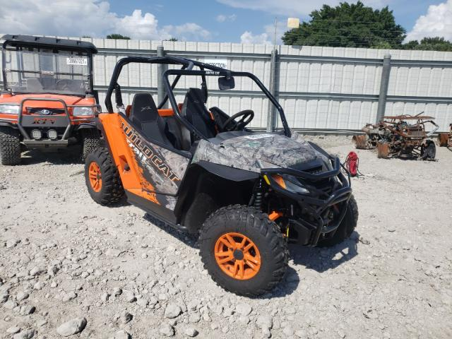 Salvage cars for sale from Copart Punta Gorda, FL: 2016 Arctic Cat 400 4X4