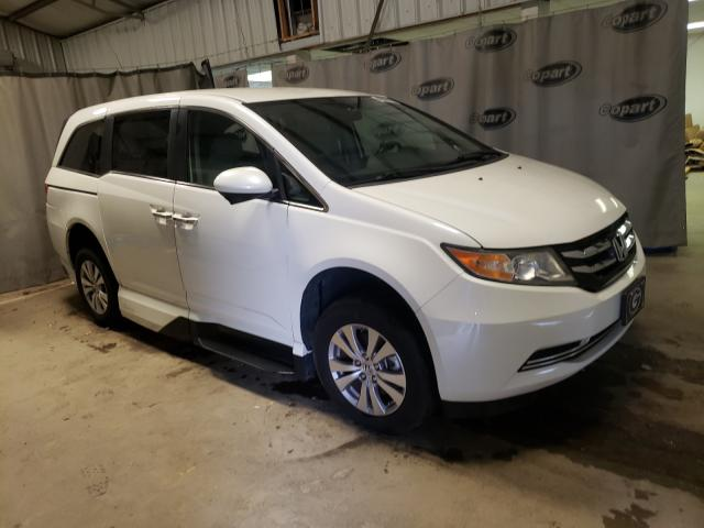 Salvage cars for sale from Copart Tifton, GA: 2014 Honda Odyssey EX