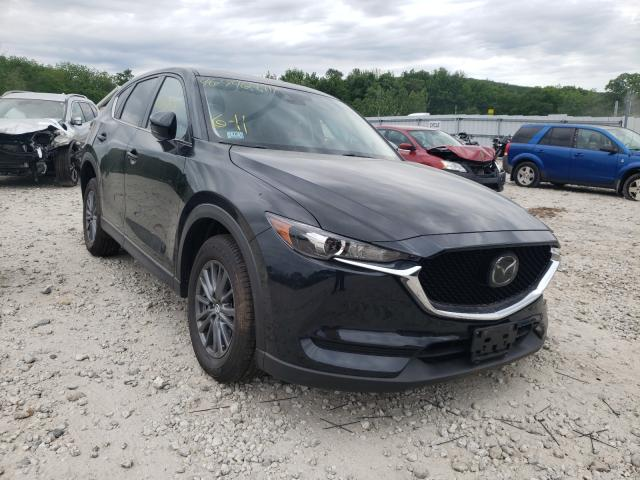 Salvage cars for sale from Copart West Warren, MA: 2020 Mazda CX-5 Touring
