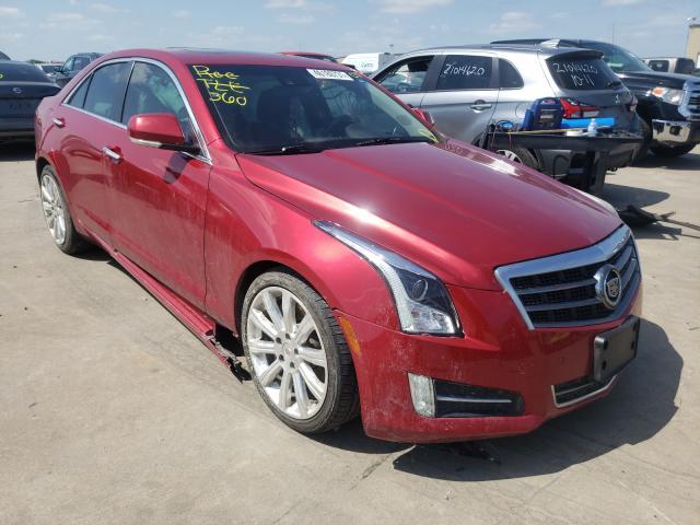 Vehiculos salvage en venta de Copart Wilmer, TX: 2013 Cadillac ATS Perfor