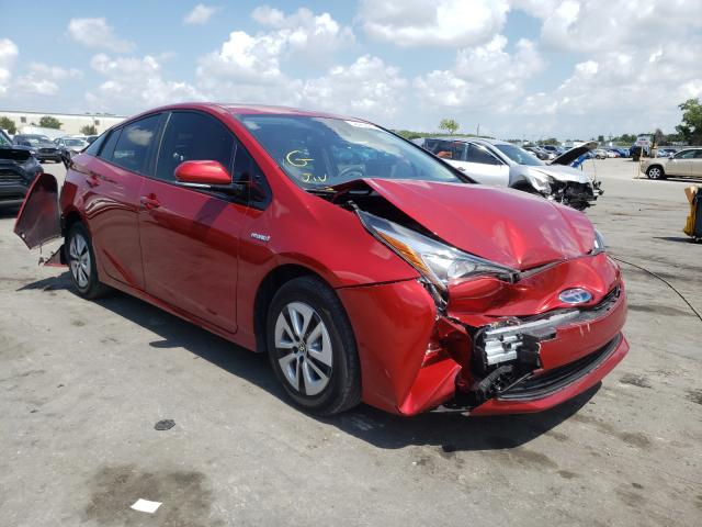 Salvage cars for sale from Copart Orlando, FL: 2018 Toyota Prius