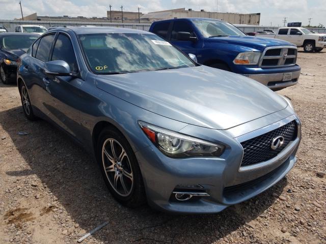 Vehiculos salvage en venta de Copart Mercedes, TX: 2015 Infiniti Q50 Base