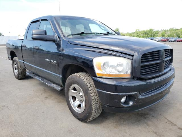 Salvage cars for sale from Copart New Britain, CT: 2006 Dodge RAM 1500 S