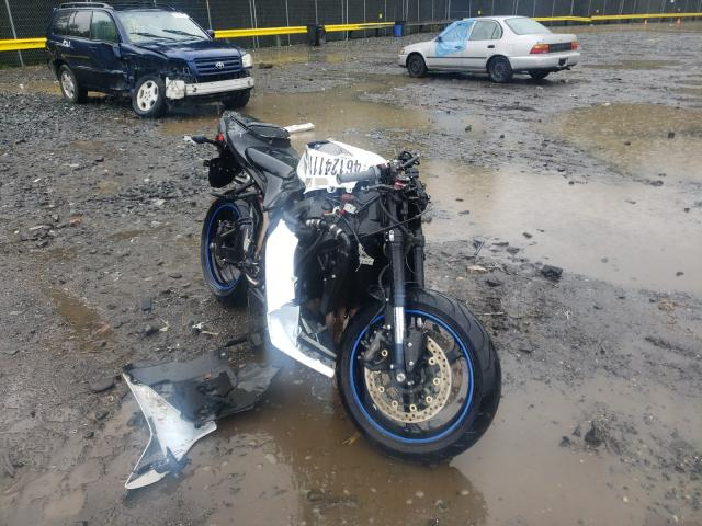 Salvage cars for sale from Copart Waldorf, MD: 2008 Honda CBR600 RR