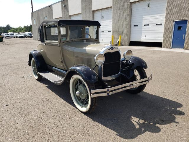 Salvage cars for sale from Copart Blaine, MN: 1928 Ford Model A