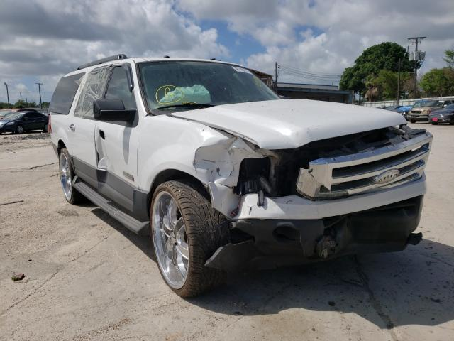 Salvage cars for sale from Copart Corpus Christi, TX: 2007 Ford Expedition