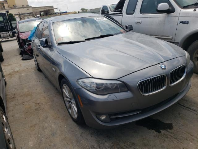 Salvage cars for sale at Tulsa, OK auction: 2011 BMW 528 I