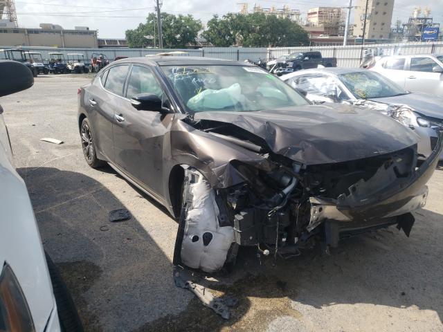 Vehiculos salvage en venta de Copart New Orleans, LA: 2016 Nissan Maxima 3.5
