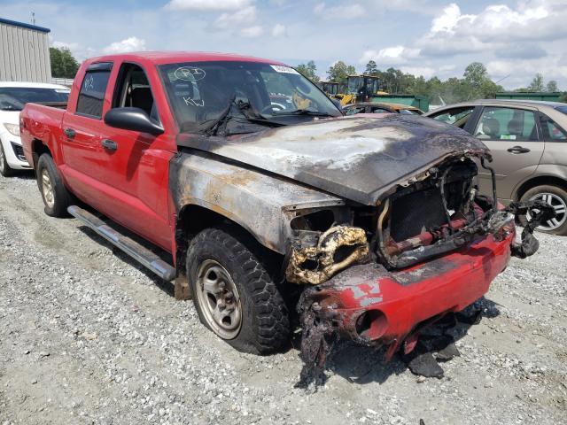 Salvage cars for sale from Copart Spartanburg, SC: 2006 Dodge Dakota Quattro