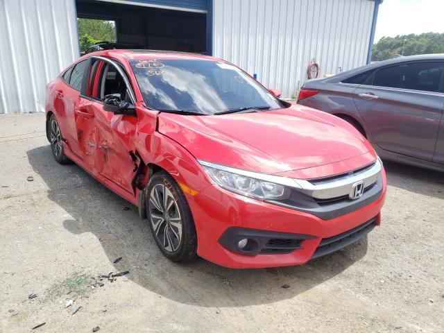 Salvage cars for sale from Copart Shreveport, LA: 2018 Honda Civic EX