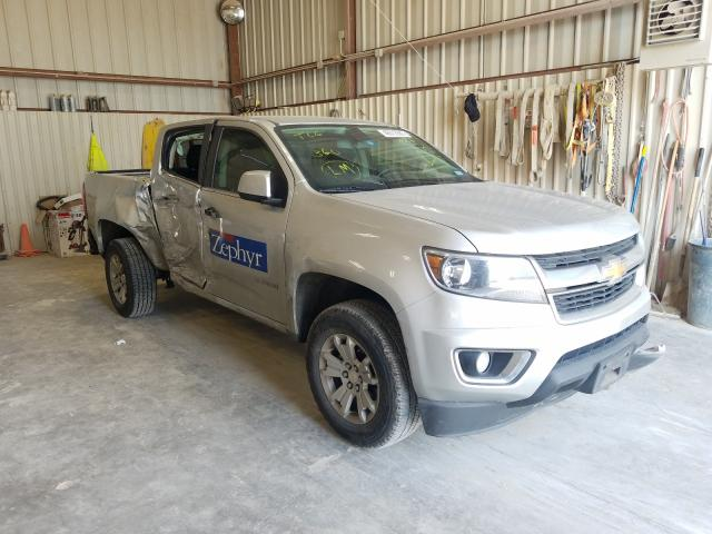 Salvage cars for sale from Copart Abilene, TX: 2019 Chevrolet Colorado L