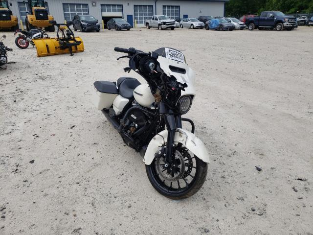 Salvage motorcycles for sale at Candia, NH auction: 2018 Harley-Davidson Flhxs Street