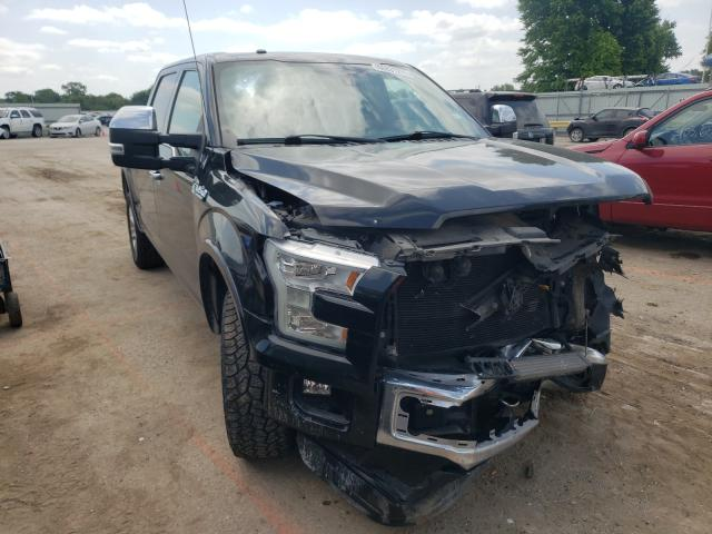 Salvage cars for sale from Copart Wichita, KS: 2015 Ford F150 Super