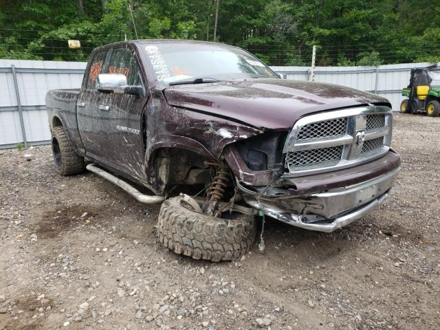 Salvage cars for sale from Copart Lyman, ME: 2012 Dodge RAM 1500 L