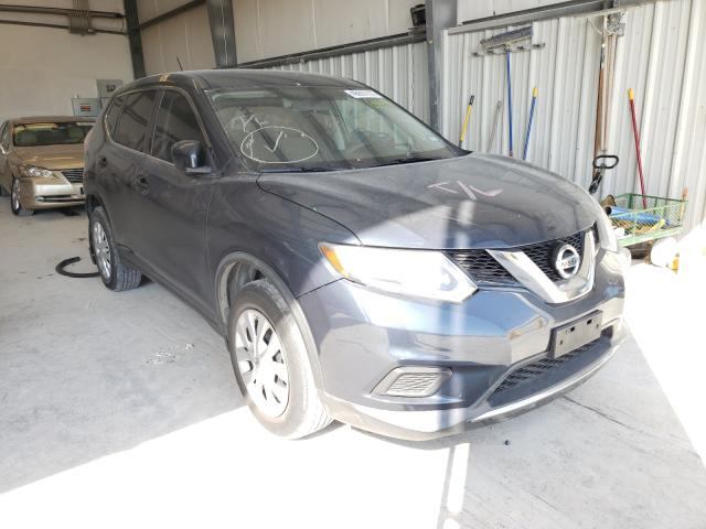 Salvage cars for sale from Copart New Braunfels, TX: 2016 Nissan Rogue S