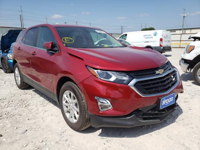 Salvage cars for sale from Copart Haslet, TX: 2021 Chevrolet Equinox LT