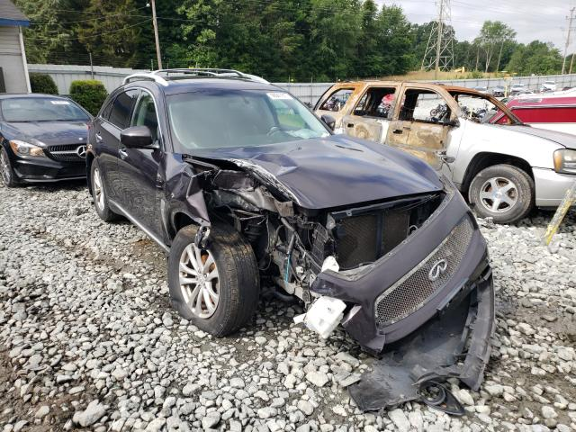 Salvage cars for sale at Mebane, NC auction: 2010 Infiniti FX35