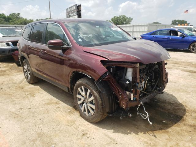 Salvage cars for sale from Copart Wichita, KS: 2021 Honda Pilot EXL