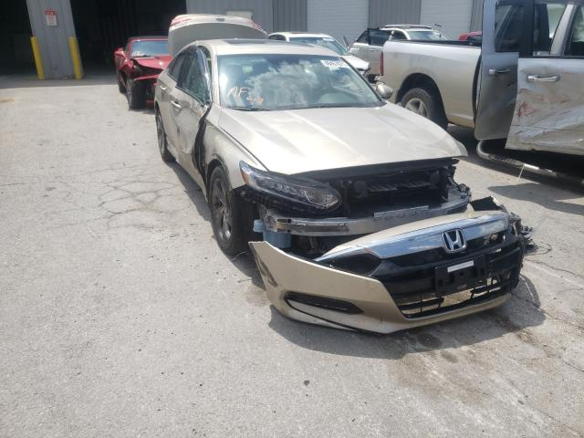 Salvage cars for sale from Copart Rogersville, MO: 2018 Honda Accord EXL