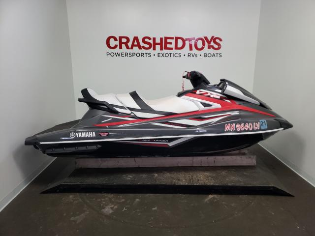 Salvage cars for sale from Copart Ham Lake, MN: 2019 Yamaha VX Cruiser