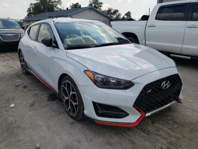 Salvage cars for sale from Copart Sikeston, MO: 2019 Hyundai Veloster N