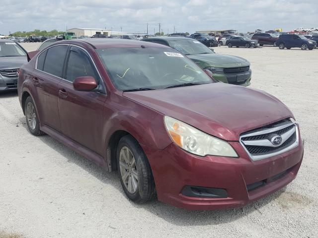 Salvage cars for sale from Copart San Antonio, TX: 2011 Subaru Legacy 2.5