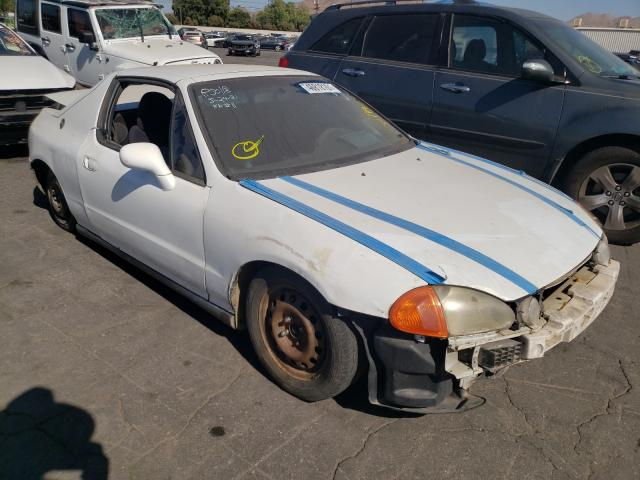Salvage cars for sale from Copart Colton, CA: 1993 Honda Civic Deluxe