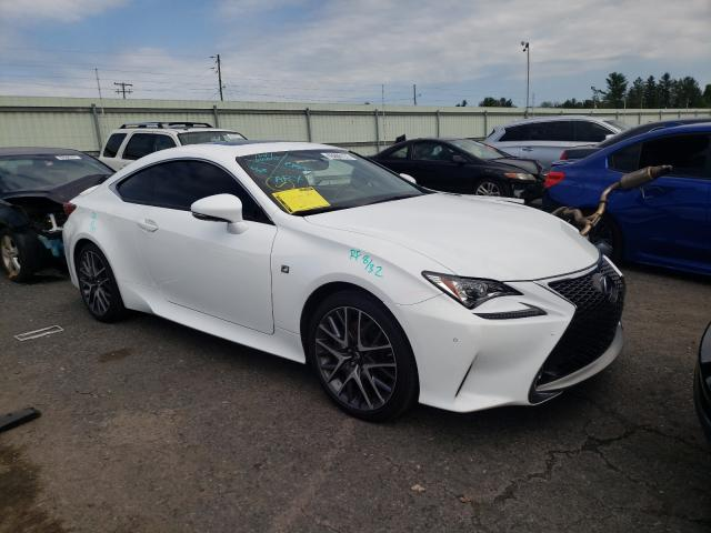 Salvage cars for sale from Copart Pennsburg, PA: 2015 Lexus RC 350