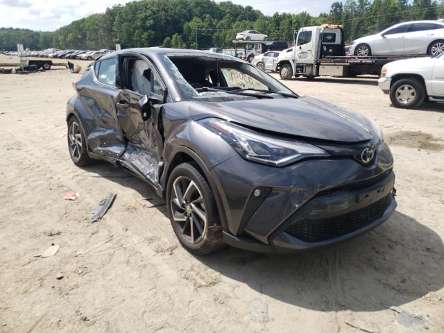 Salvage cars for sale from Copart Hampton, VA: 2020 Toyota C-HR XLE