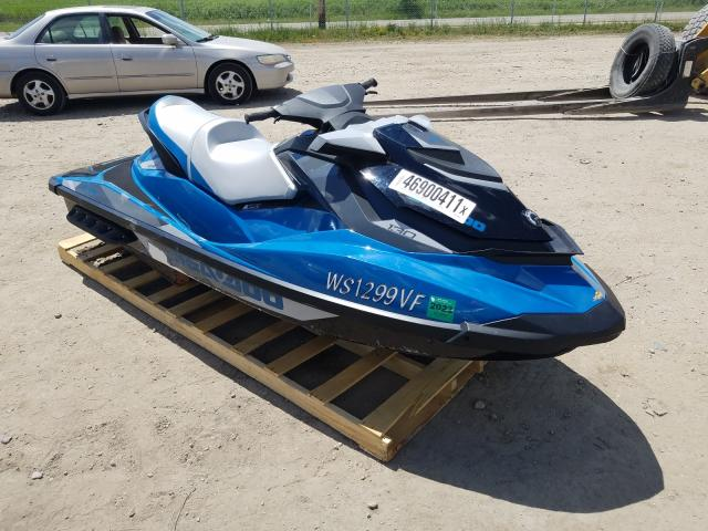 Salvage cars for sale from Copart Madison, WI: 2019 Seadoo Jetski