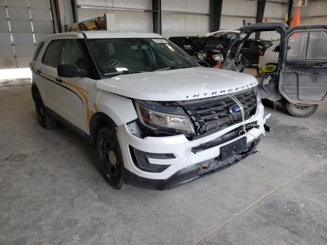 Salvage cars for sale from Copart Greenwood, NE: 2017 Ford Explorer P