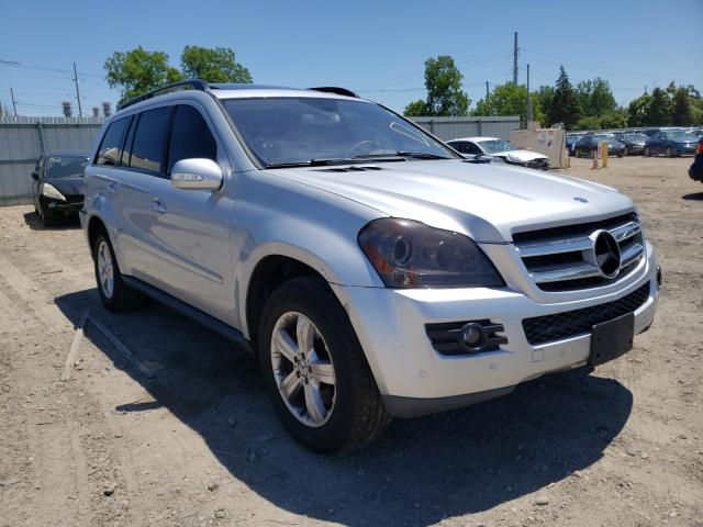 Salvage cars for sale from Copart Lansing, MI: 2007 Mercedes-Benz GL 450 4matic