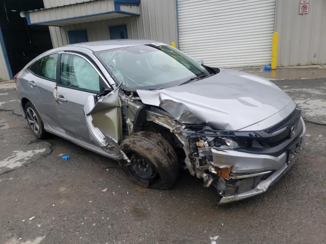 Salvage cars for sale from Copart Albany, NY: 2020 Honda Civic LX