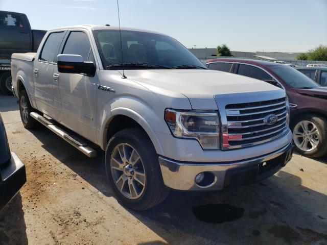 Salvage cars for sale at Tulsa, OK auction: 2014 Ford F150 Super