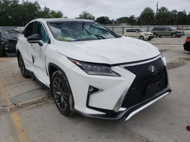 Salvage cars for sale from Copart Punta Gorda, FL: 2019 Lexus RX 350 Base