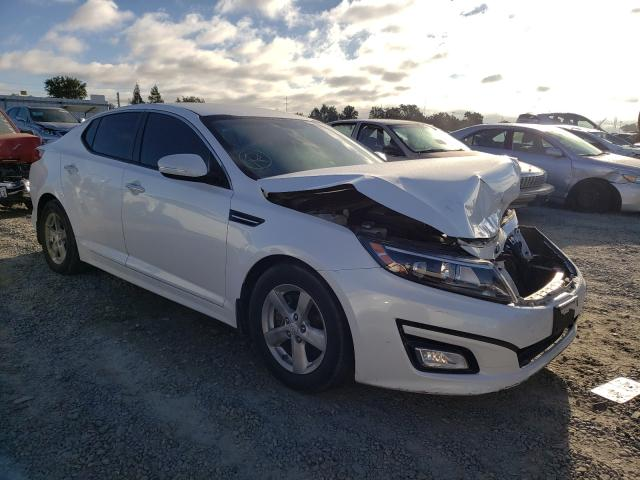 KIA salvage cars for sale: 2014 KIA Optima LX