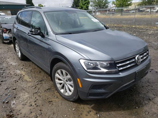 Salvage cars for sale from Copart Eugene, OR: 2019 Volkswagen Tiguan S