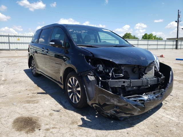 Toyota salvage cars for sale: 2020 Toyota Sienna XLE