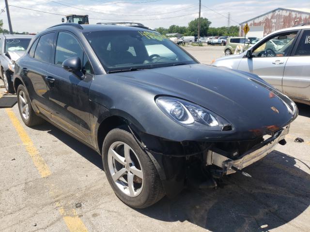 Porsche Vehiculos salvage en venta: 2018 Porsche Macan