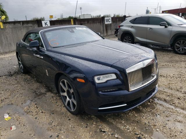 Rolls-Royce salvage cars for sale: 2018 Rolls-Royce Dawn