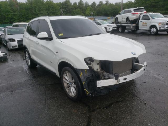 Vehiculos salvage en venta de Copart Exeter, RI: 2016 BMW X3 XDRIVE2