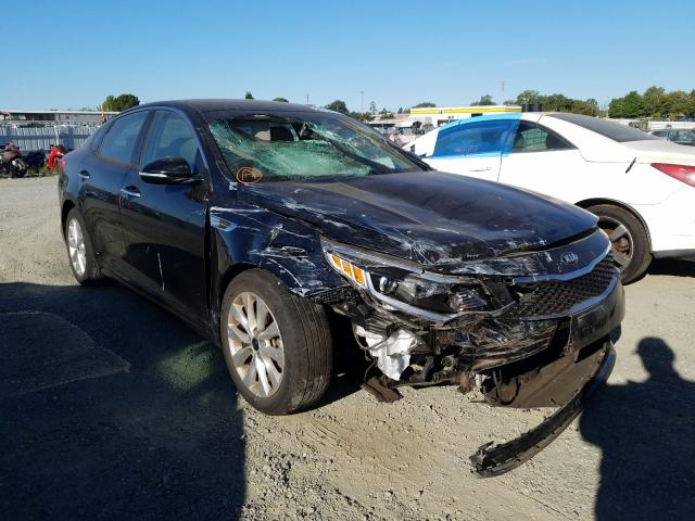 Salvage cars for sale from Copart Antelope, CA: 2018 KIA Optima LX
